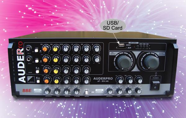 mixer ampli karaoke auderpro ap-804am usb