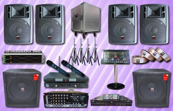 paket 1A karaoke mesin lagu
