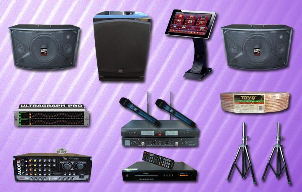paket 3 karaoke mesin lagu
