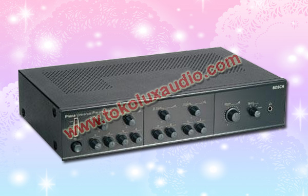 Bosch plena universal mixer pre amplifier lbb1920