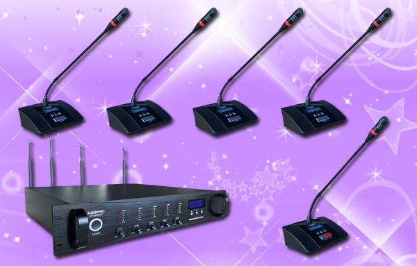 conference wireless auderpro G 41 mic