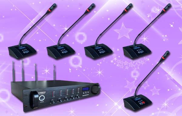 conference wireless auderpro J 25 mic
