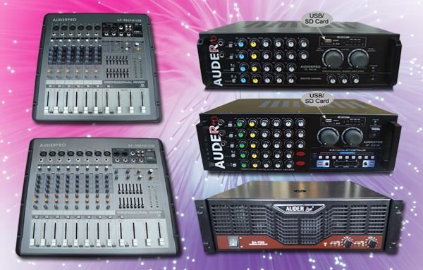 power mixer amplifier gabungan auderpro sa700 ap908pm ap906pm ap803am