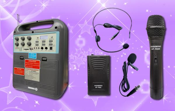 a1 portable wiireless auderpro ap902pa bluetooth usb