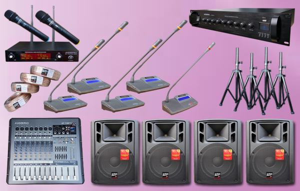 conference kabel P1 auderpro 36 mic + sound system