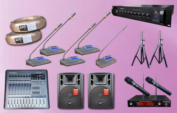 conference kabel P5 auderpro 11 mic + sound system